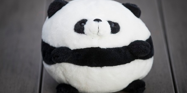 Haggling For Things You Don't Really Want - The Chinese Soft Toy Panda Ball Head Photo / Jason Oxenham