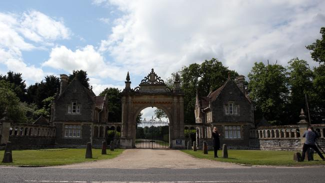 Security reportedly implored Middleton to have it at St Marks church as it is 'more secure'. This photo shows the gated entrance to the church. Photo/Getty Images