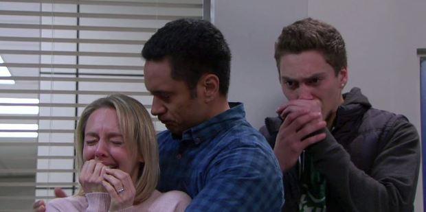 A scene during Pixie's death. Photo / NZOS