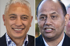 Associate Housing Minister Alfred Ngaro, left, and Willie Jackson. Photos / Supplied