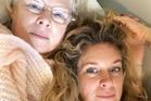 Rachel Hunter and her mum, Janeen. Photo / Instagram