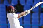 West Indies' tailender Shannon Gabriel. Photo / AP