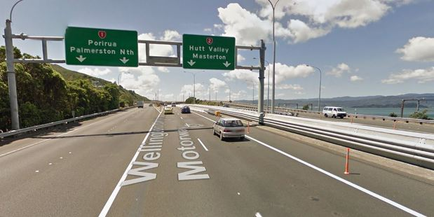 The driver took off up State Highway 2 towards Lower Hutt.