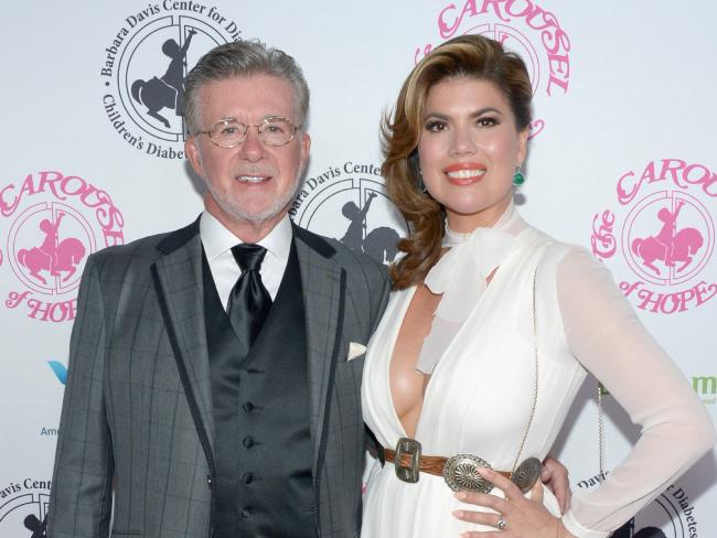 Alan Thicke's sons say his widow, Tanya Callau, is attempting to gain a larger portion of their father's estate. Photo/Getty Images