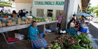 Shopping at markets in Neiafu, Vava'u, Tonga. Photo / Getty Images