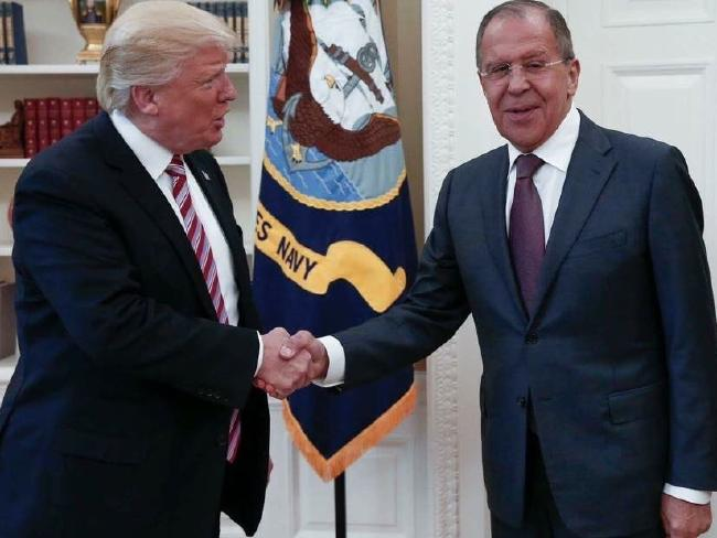 Trump administration sees no hazard in intel-sharing with Russian Federation