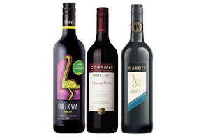 Wine: Two reds and a white