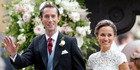 James Matthews and Pippa Middleton tied the knot over the weekend. Photo/Getty Images