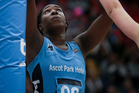 Jhaniele Fowler-Reid enjoyed another prolific outing against the Pulse. Photo / photosport.nz