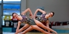 Watch: Tauranga synchronise swimmers take on the world