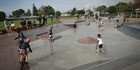 Skateboarders give Te Puke's $280,000 facility at Jubilee Park good workout during opening