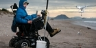 Watch: Watch: Tetraplegic uses drone to keep his fishing hobby alive