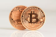 The price of a single bitcoin has soared to $2,200 from just $0.003 seven years ago. Photo / 123RF