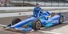 Aucklander Scott Dixon has his car on pole for Monday morning's Indianapolis 500. Photo / Photosport