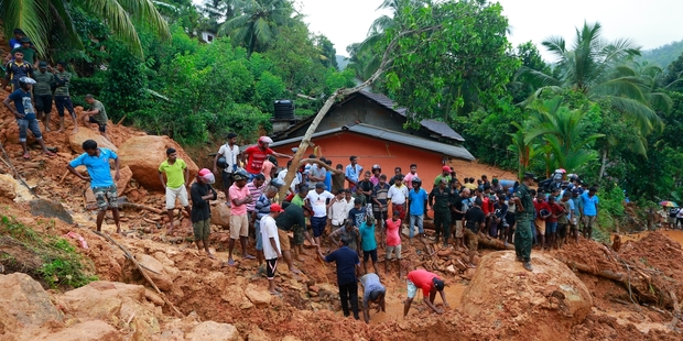 Mudslides in Sri Lanka kill 91, 110 go missing