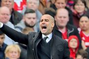 Manchester City manager Pep Guardiola. Photo / AP