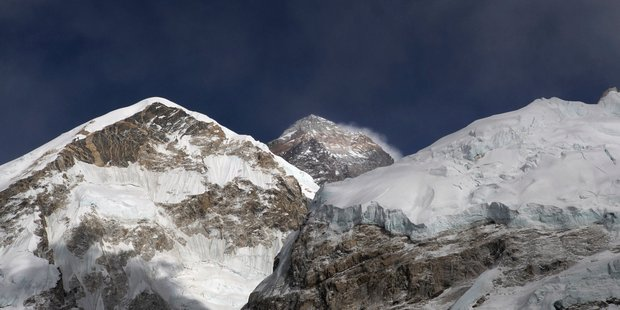 Nepali climbers say outcrop near top of Everest is intact