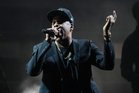 Jay Z performs during a campaign rally for Democratic presidential candidate Hillary Clinton. Photo / AP