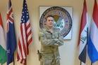 Deputy Coalition Commander Hugh McAslan at Coalition HQ in Baghdad. Photo/ Audrey Young