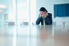 Don't hide your depression from your employer, especially if workplace stress is contributing to your deteriorating mood. Picture / Getty Images