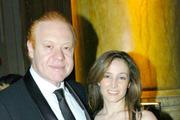 Australia's richest man, left, Anthony Pratt and Claudine Revere. Photo / Getty Images