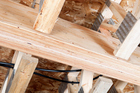 Cross Laminated Timber (CLT) - which uses several layers of wood, stacked crossways and bonded together - is an efficient and plentiful building product. Photo / Getty Images