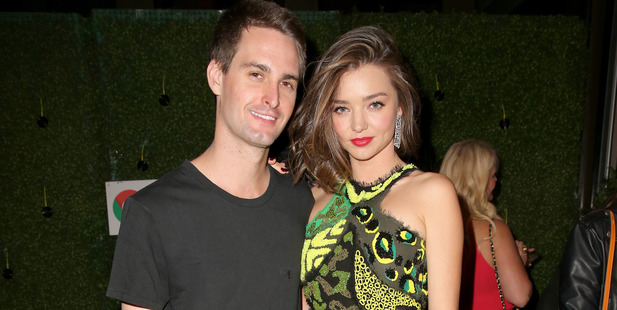 Miranda Kerr & Evan Spiegel Reportedly Getting Married This Weekend