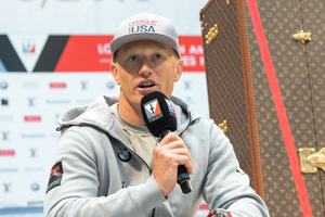 Oracle Team USA's skipper Jimmy Spithill. Photo / Getty