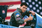 American actor Tom Cruise on the set of Top Gun. Photo / Getty