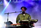 Sampha (pictured at Coachella Valley Music And Arts Festival in April) wowed at The Powerstation in Auckland on Wednesday night. Photo / Getty