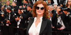 """CANNES, FRANCE - MAY 18: Susan Sarandon attends the """"Loveless (Nelyubov)"""" screening during the 70th annual Cannes Film Festival at Palais des Festivals on May 18, 2017 in Cannes, France. ("""