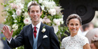 James Matthews and Pippa Middleton tied the knot over the weekend. Photo / Getty Images