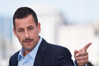 Adam Sandler at the 70th annual Cannes Film Festival for The Meyerowitz Stories. Photo / Getty