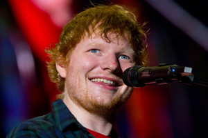 Ed Sheeran will perform five shows here next March - and tickets are in hot demand. Photo/Getty