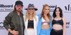 Billy Ray was the only member of the Cyrus clan who remembered his shirt at the Billboard Music Awards. Photo / Getty