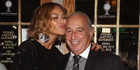 Singer Beyonce and Sir Philip Green at a Topshop event. Photo / File