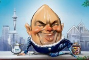 Finance Minister Steven Joyce delivered his maiden budget today. Image / Rod Emmerson