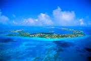 Aerial view of Bermuda Bermuda Front Street, 35th America's Cup.