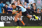 Israel Folau is confident the Waratahs can hold their own in New Zealand against the Highlanders and the Chiefs. Photo / AAP