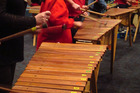 Locals can enjoy a marimba music making workshop. Photo / Supplied