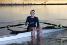 COMMITTED: Grace Holland is preparing to represent New Zealand at the Junior World Rowing Championships in Lithuania. PHOTO/JOHN BORREN