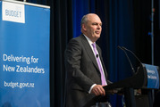 Steven Joyce has hardly thrown fiscal caution to the winds, Brian Fallow writes. Photo / Mark Mitchell