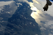 Thomas Pasquet, an astronaut aboard the International Space Station tweeted this picture of South Island. Photo / Supplied