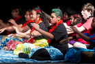 Pacific Island cultural group performs John Paul College 30th anniversary celebrations. Photo/Stephen Parker