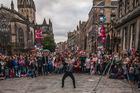 An Edinburgh Festival Fringe entertainer. Photo / Getty images