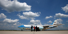One of the modified Boeing 747 planes known as Air Force One had contaminated oxygen. Photo / AP