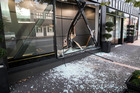 The International Art Centre in Parnell, Auckland, was robbed in a ram-raid on April 1. Photo / Jason Oxenham.