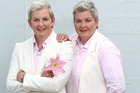 Topp Twins Jools (left) and Lynda Topp