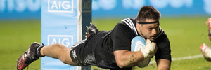 Kane Hames has been in top form for the Chiefs in this year's Super Rugby competition. Photo / Brett Phibbs