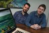 Creators of Safe Surfer Aaron Sinclair and Rory Birkbeck are asking Hawke's Bay families to protect their children from online porn through their application. Photo/file
